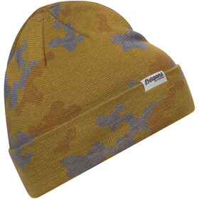 Bergans Camouflage Czapka, mustard yellow/light inca gold/alu